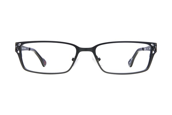 Hot Kiss HK50 Eyeglasses - Black