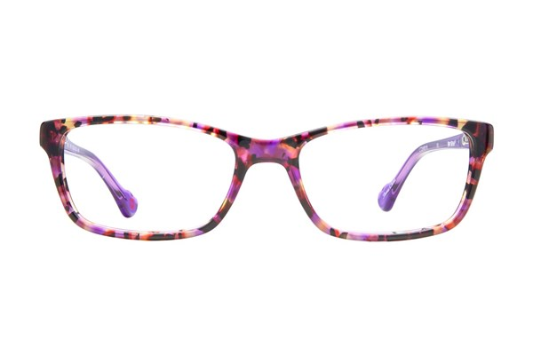 Hot Kiss HK51 Eyeglasses - Purple