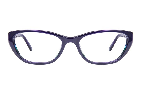Via Spiga Noemi Blue Eyeglasses