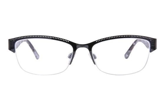 Via Spiga Porzia Black Eyeglasses