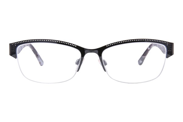 Via Spiga Porzia Black Eyeglasses