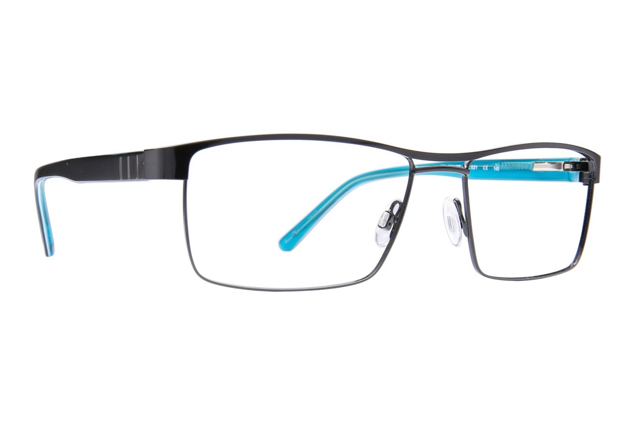 Randy Jackson RJ 1073 Black Eyeglasses