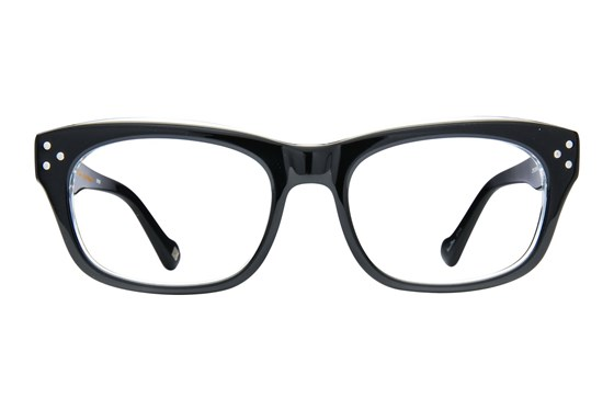 Randy Jackson RJ X118 Black Eyeglasses