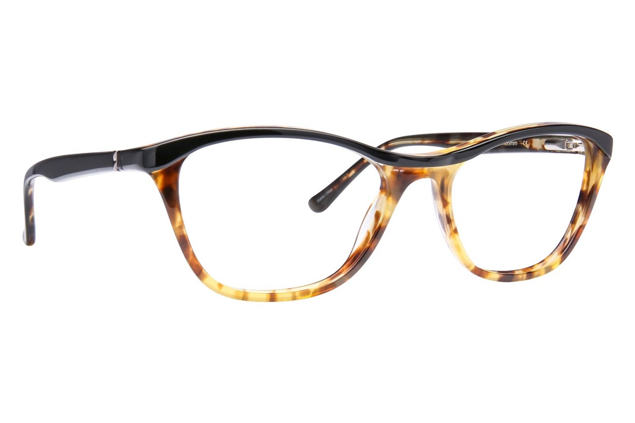 Via Spiga Stella Black Eyeglasses