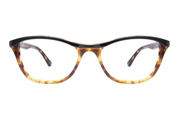 Via Spiga Stella Eyeglasses - Black