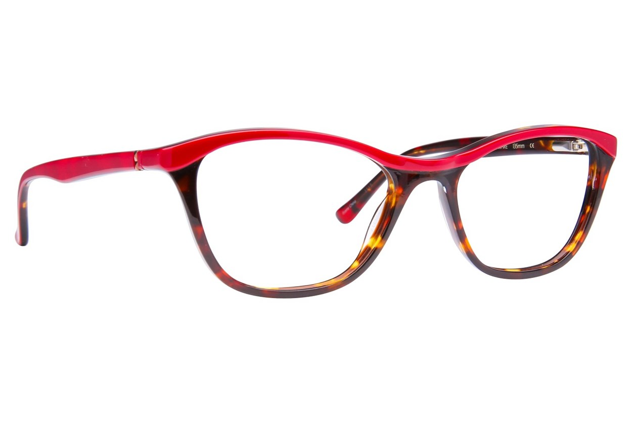 Via Spiga Stella Red Eyeglasses