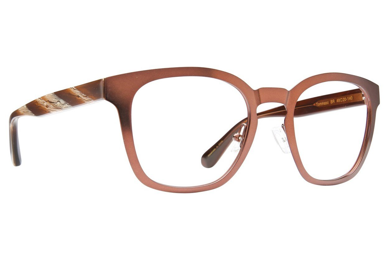 Zac Posen Tommaso Brown Eyeglasses