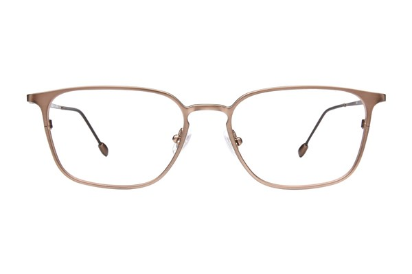 John Varvatos V151 Brown Eyeglasses