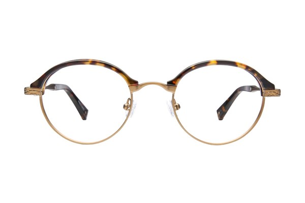 John Varvatos V152 Eyeglasses - Gold