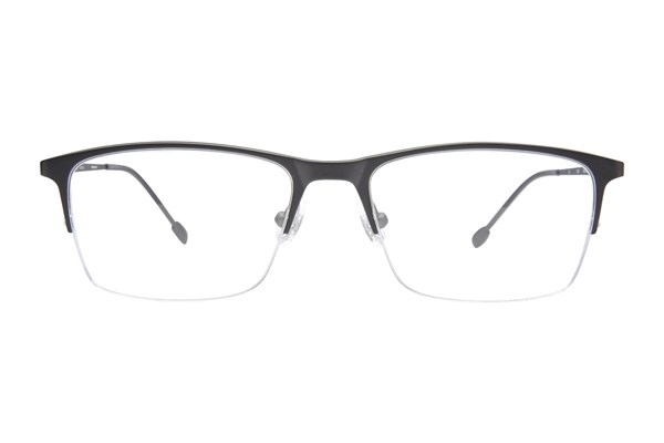 John Varvatos V154 Black Eyeglasses
