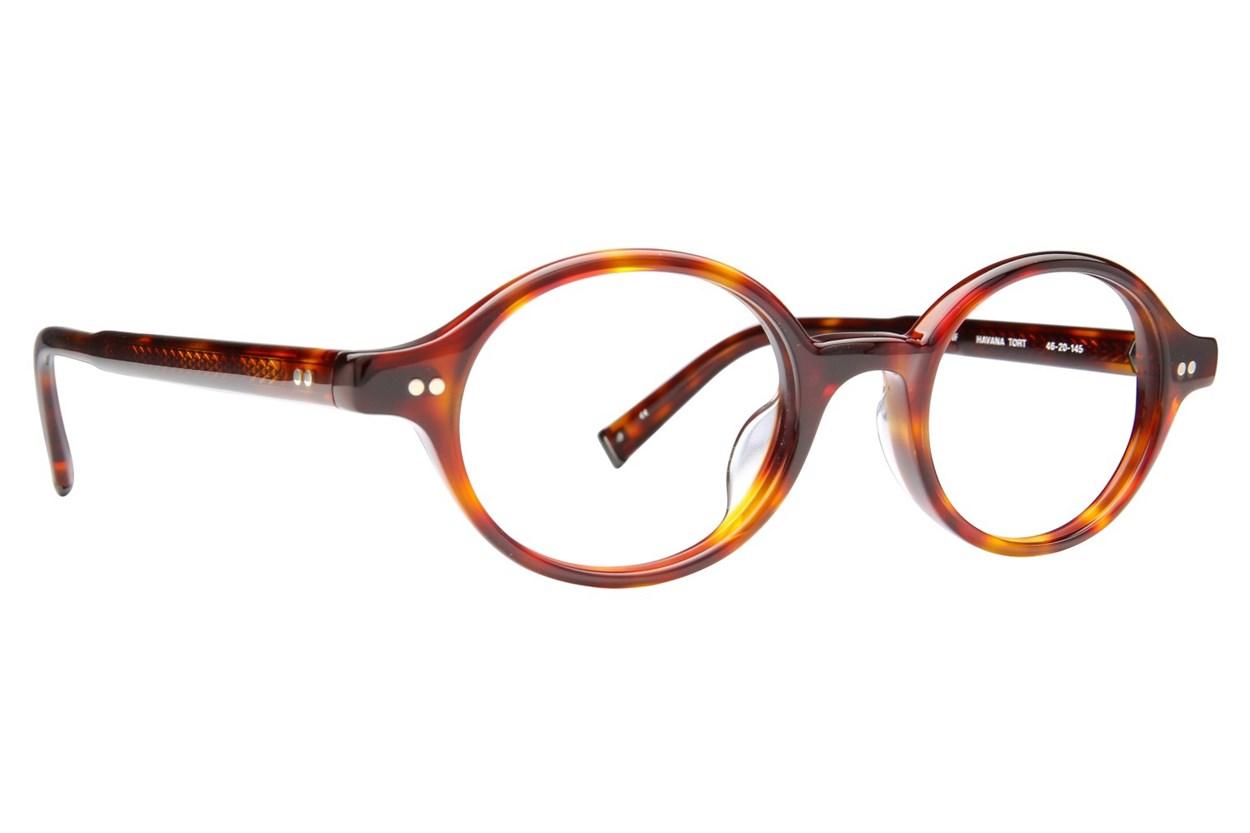 John Varvatos V206 Tortoise Eyeglasses