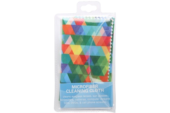 CalOptix Confetti Cleaning Cloth Turquoise GlassesCleaners