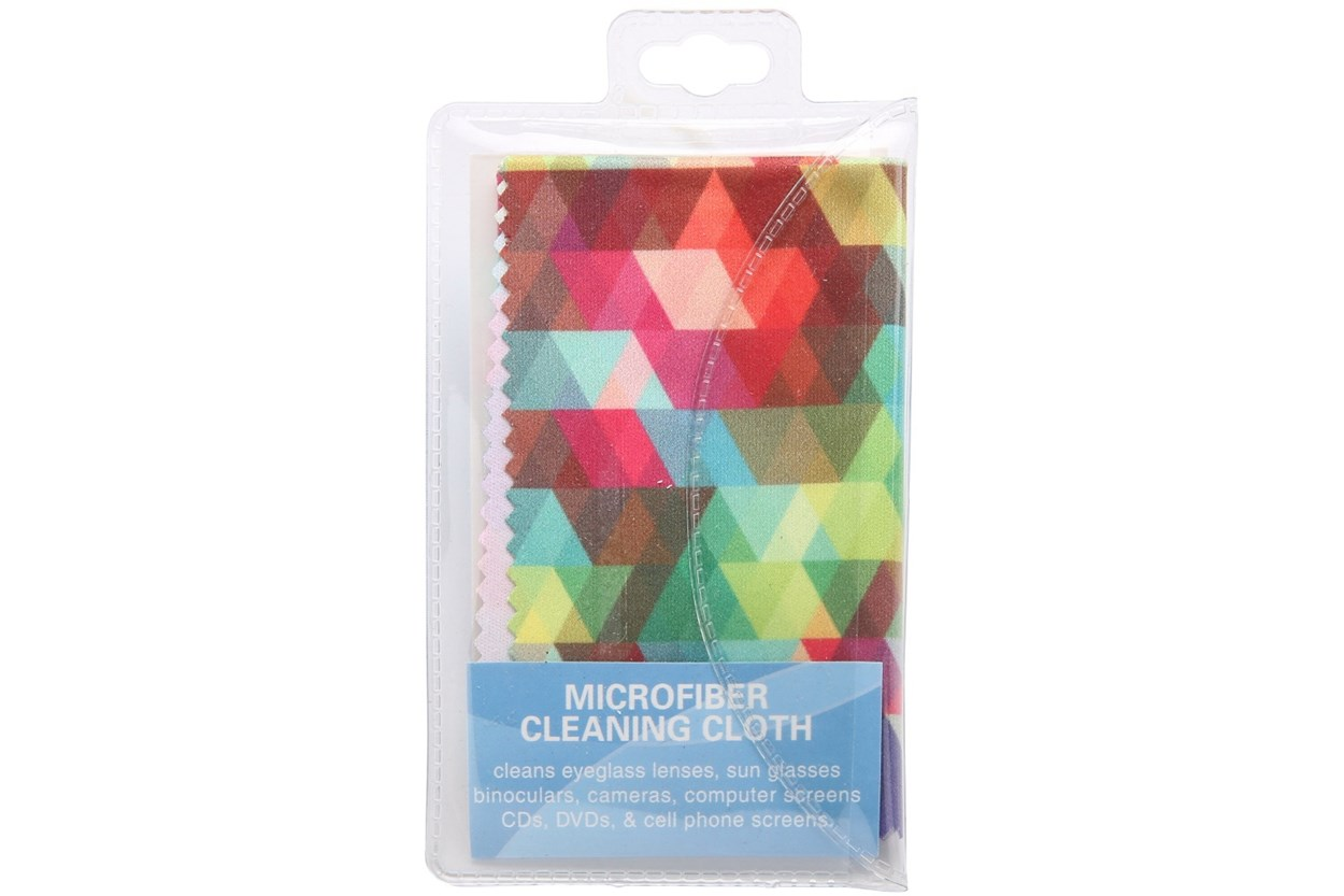 CalOptix Confetti Cleaning Cloth Pink GlassesCleaners