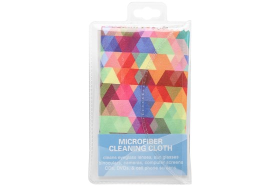 CalOptix Confetti Cleaning Cloth Orange GlassesCleaners