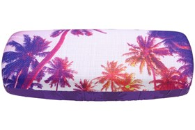 CalOptix Sunset Reflections Eyeglass Case Purple