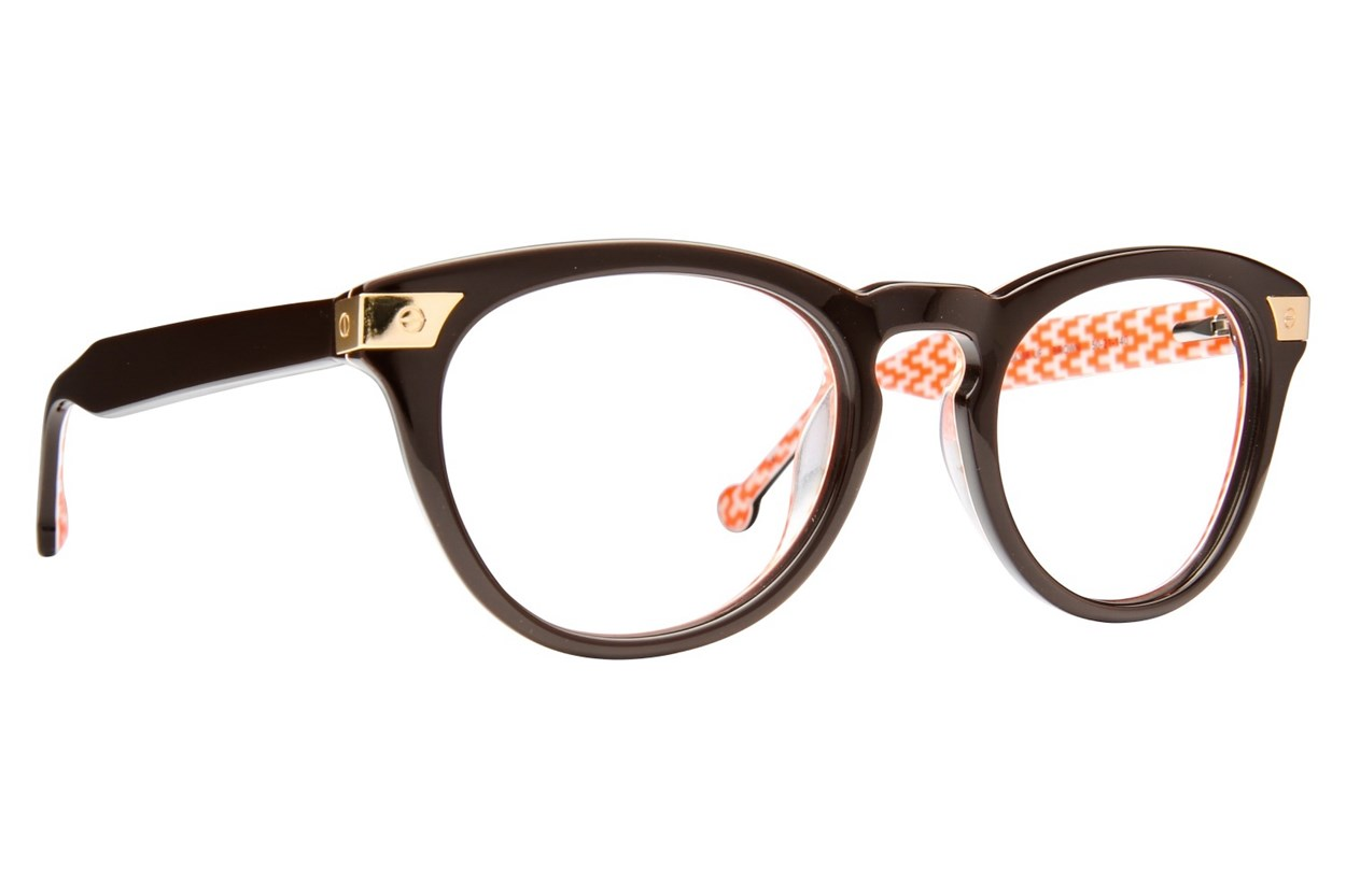 Jonathan Adler JA308 Eyeglasses - Brown