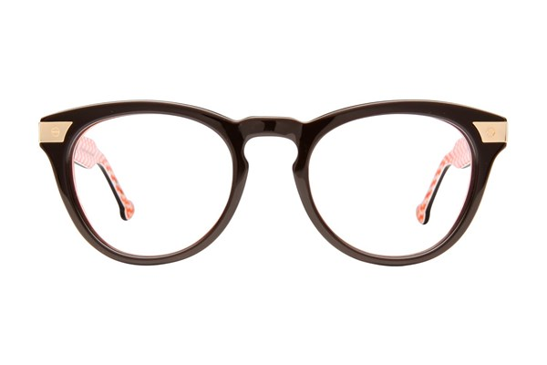 Jonathan Adler JA308 Brown Eyeglasses