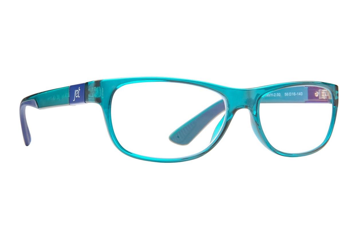 Jet Readers LGA Reading Glasses Blue