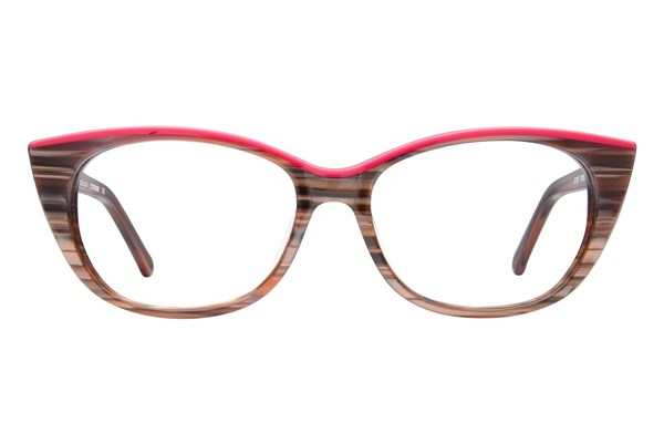 Colors In Optics Millie Eyeglasses - Brown