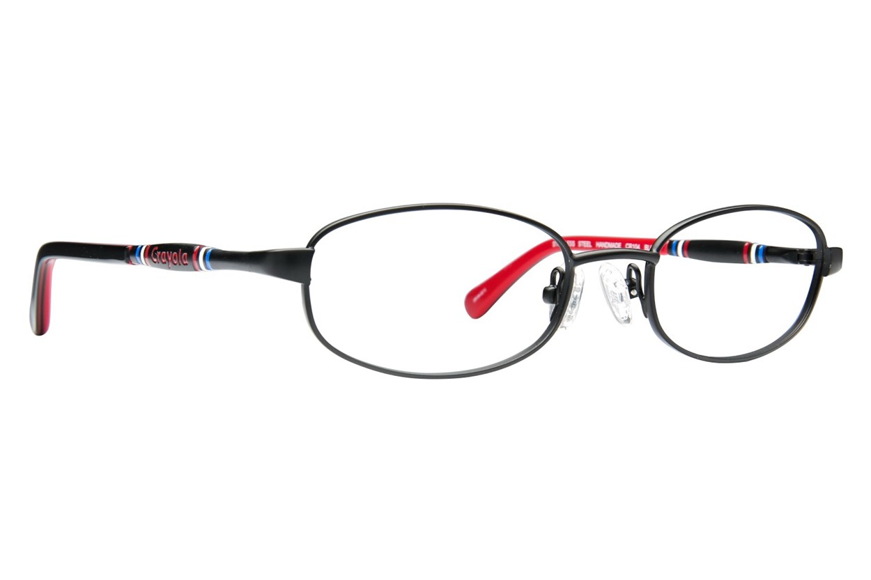 Crayola CR104 Black Eyeglasses
