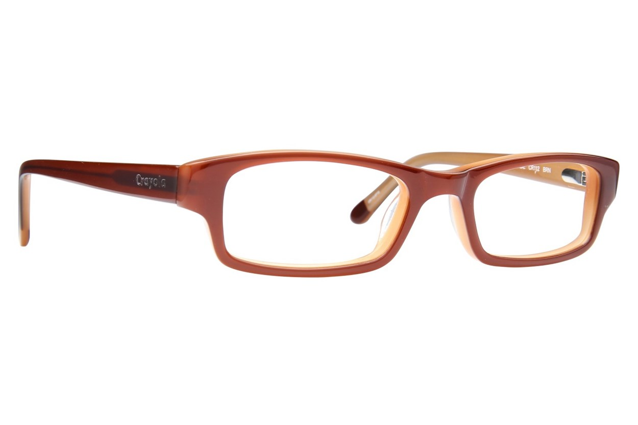 Crayola CR112 Brown Eyeglasses