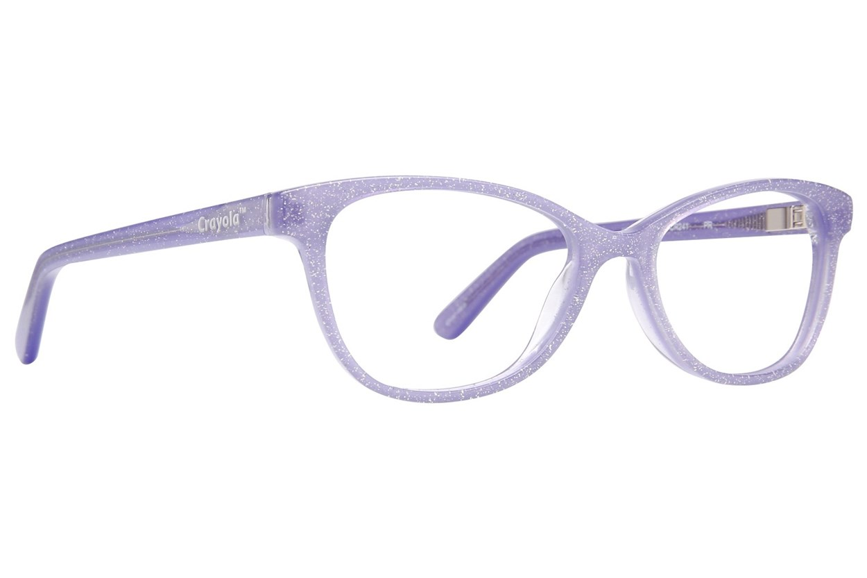 Crayola CR241 Purple Eyeglasses