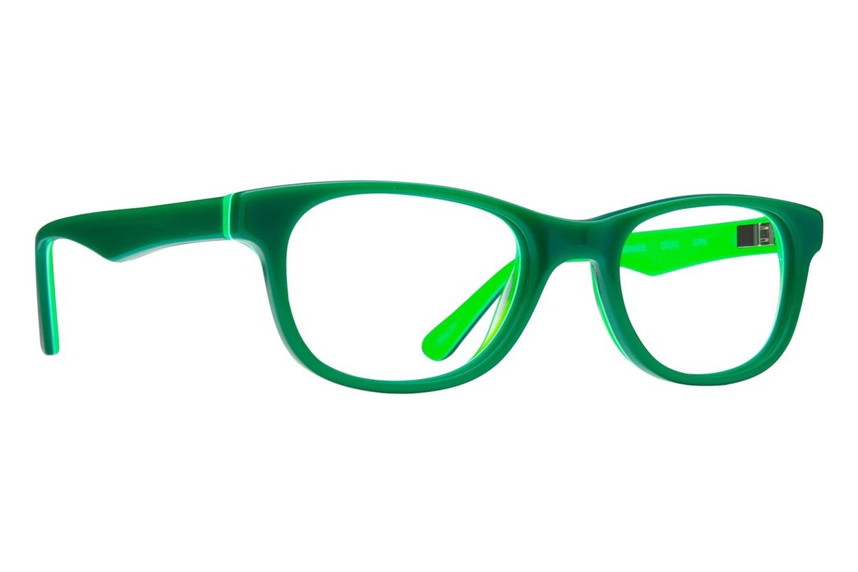 Crayola CR242 Green Eyeglasses