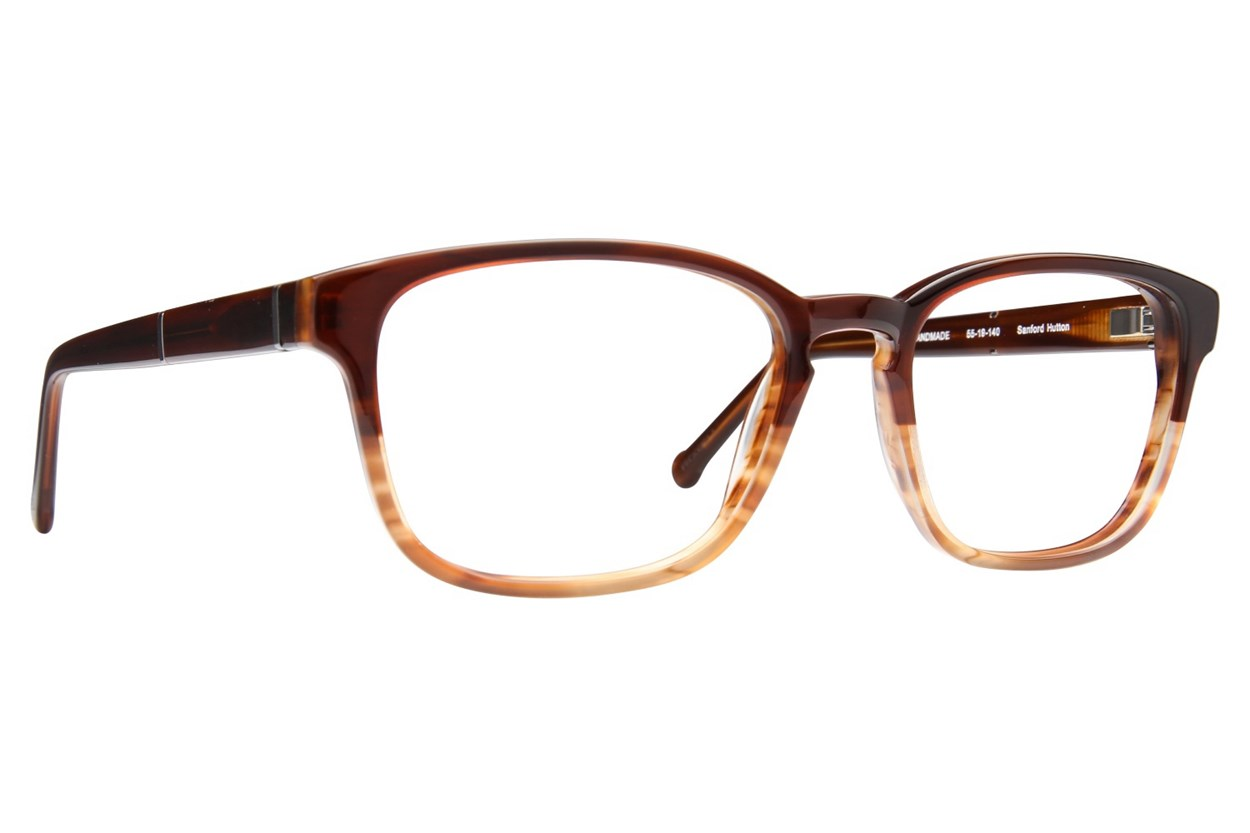 Colors In Optics Greenwhich Brown Eyeglasses