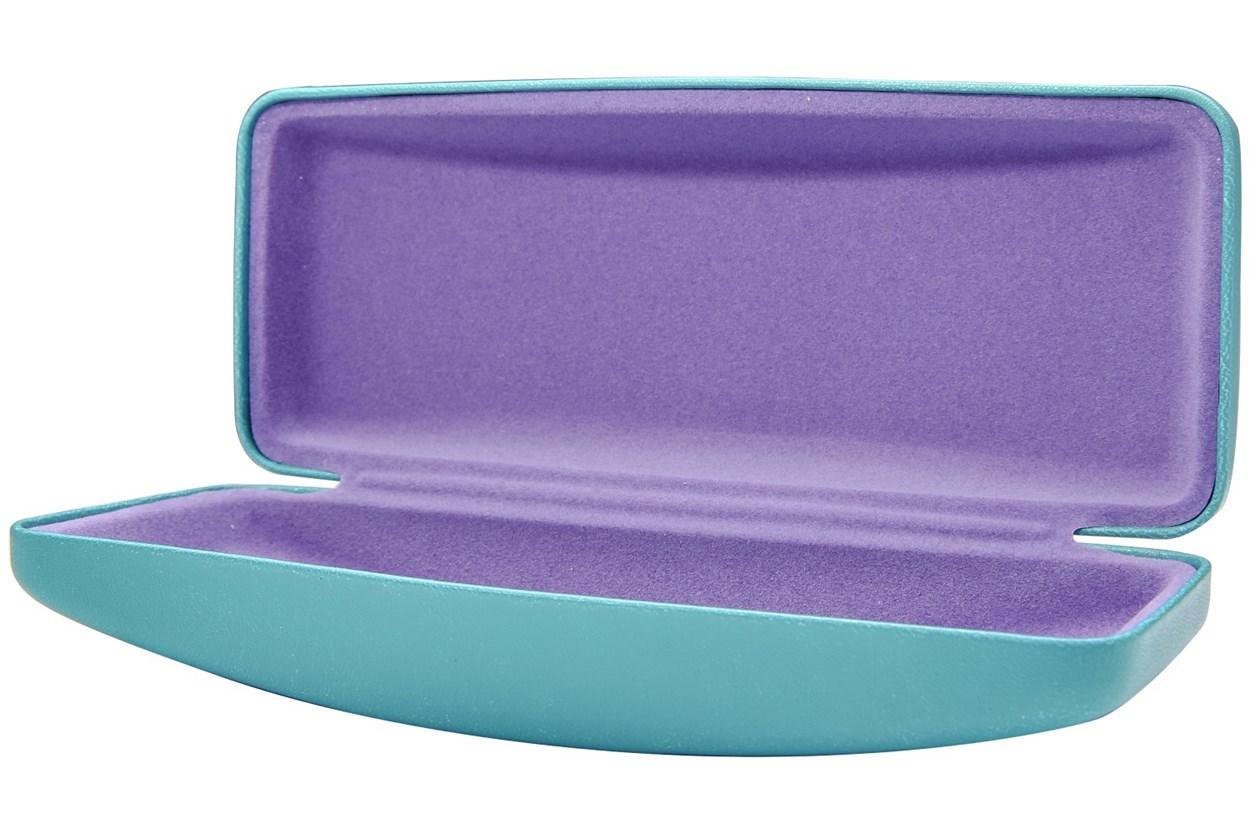Alternate Image 1 - CalOptix Carousel Medium Eyeglass Case Blue GlassesCases