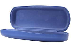 Click to swap image to alternate 1 - CalOptix Scholar Extra Long Eyeglass Case Blue 50