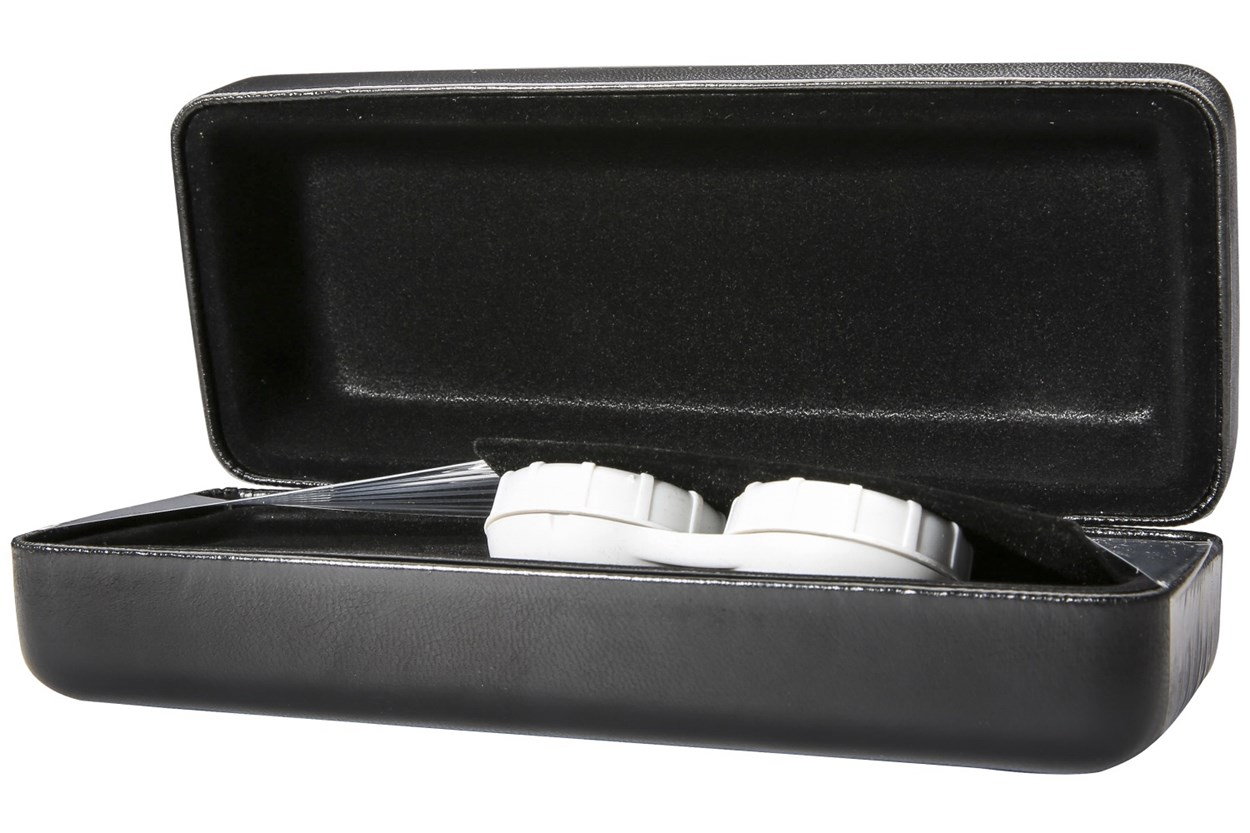Alternate Image 1 - CalOptix Eyeglass/Contact Lens Combo Case Black 50