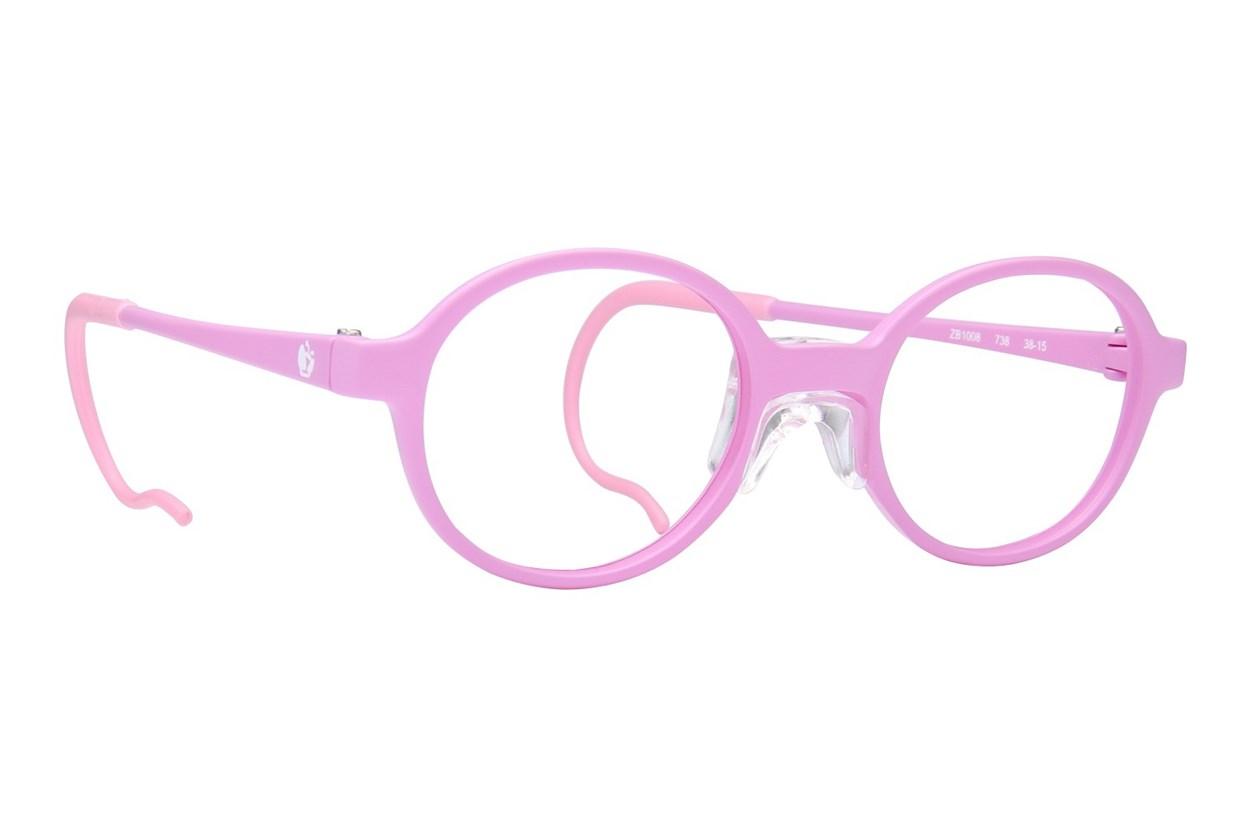 Zoobug ZB1008 Purple Eyeglasses