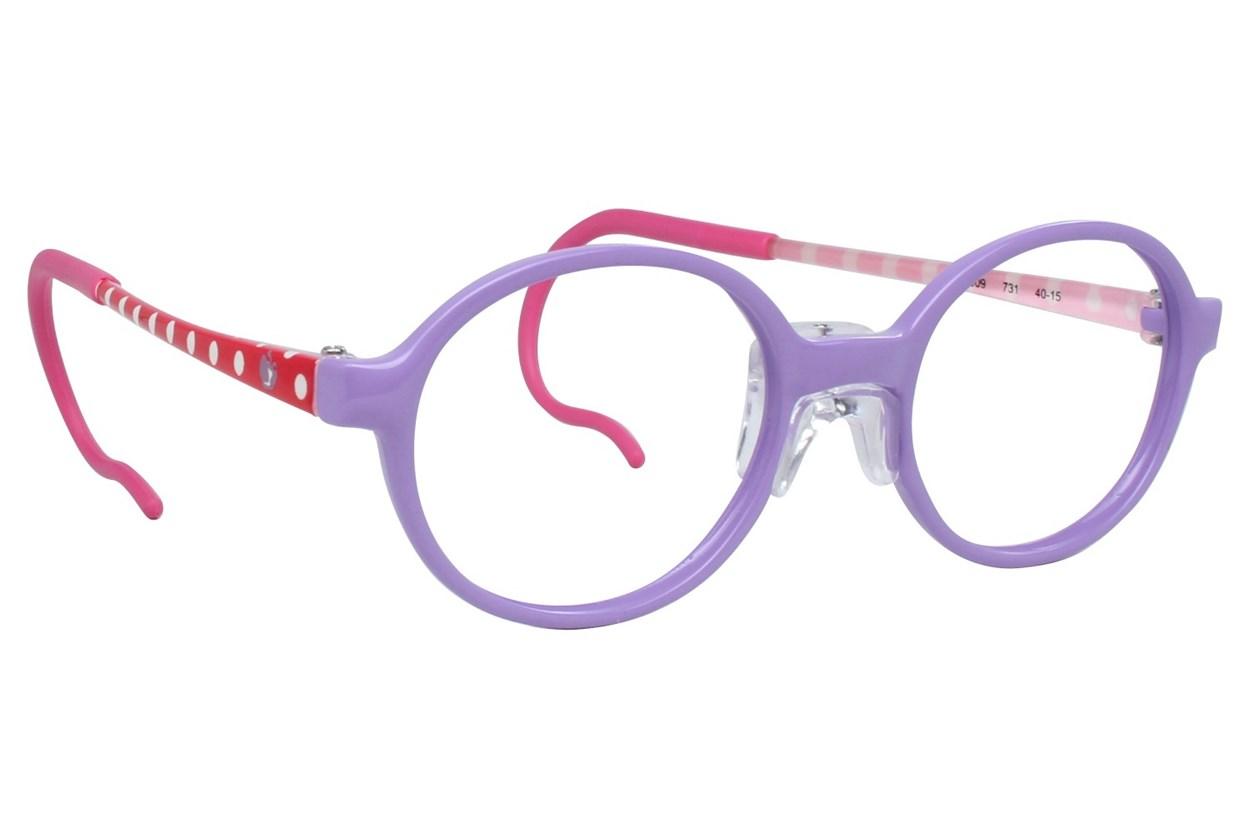 Zoobug ZB1009 Purple Eyeglasses