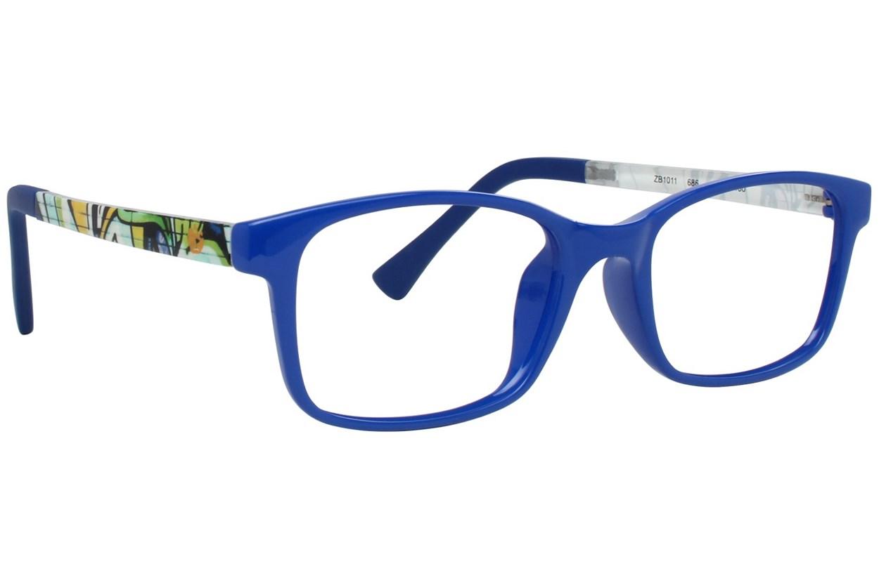 Zoobug ZB1011 Blue Eyeglasses