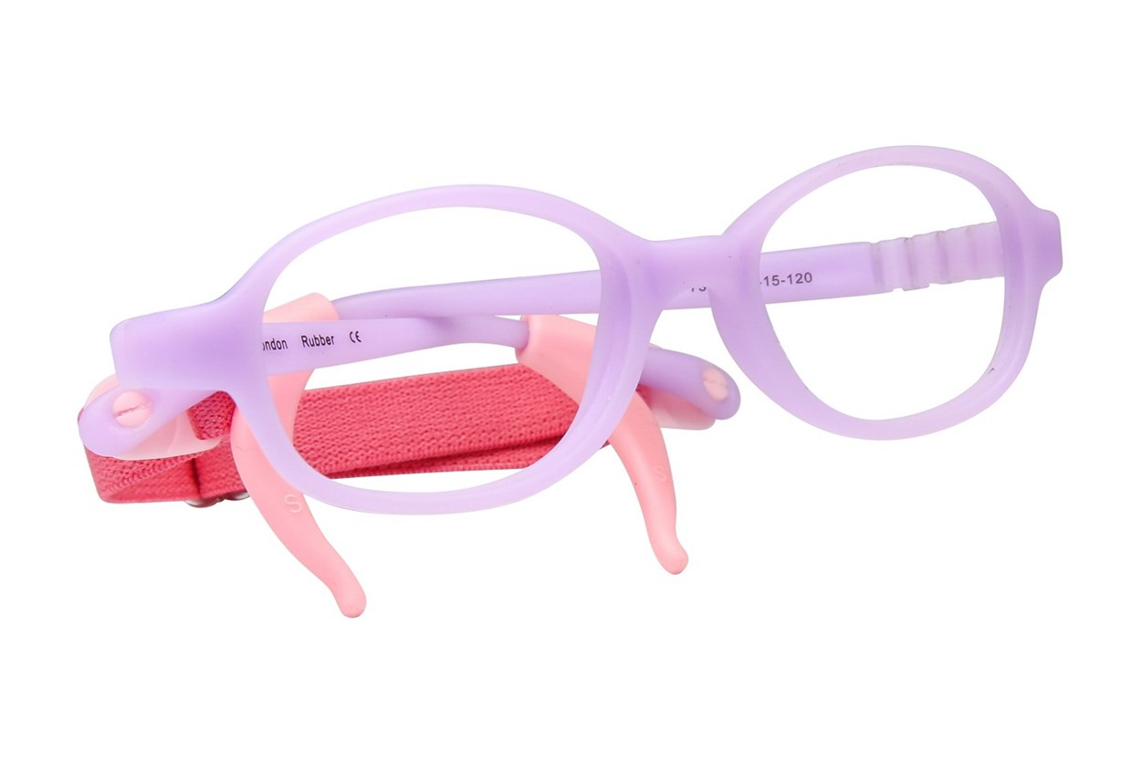 Zoobug ZB1017 Purple Eyeglasses
