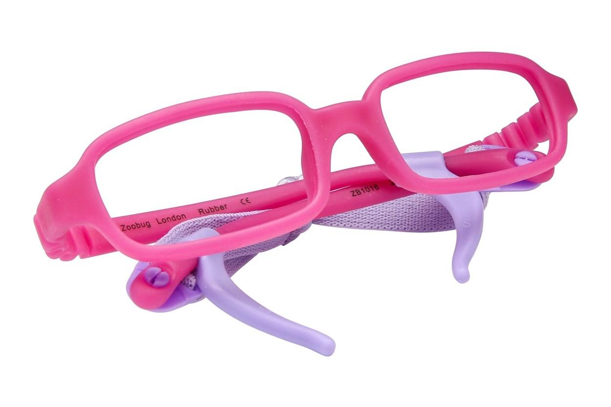 Zoobug ZB1018 Pink Eyeglasses