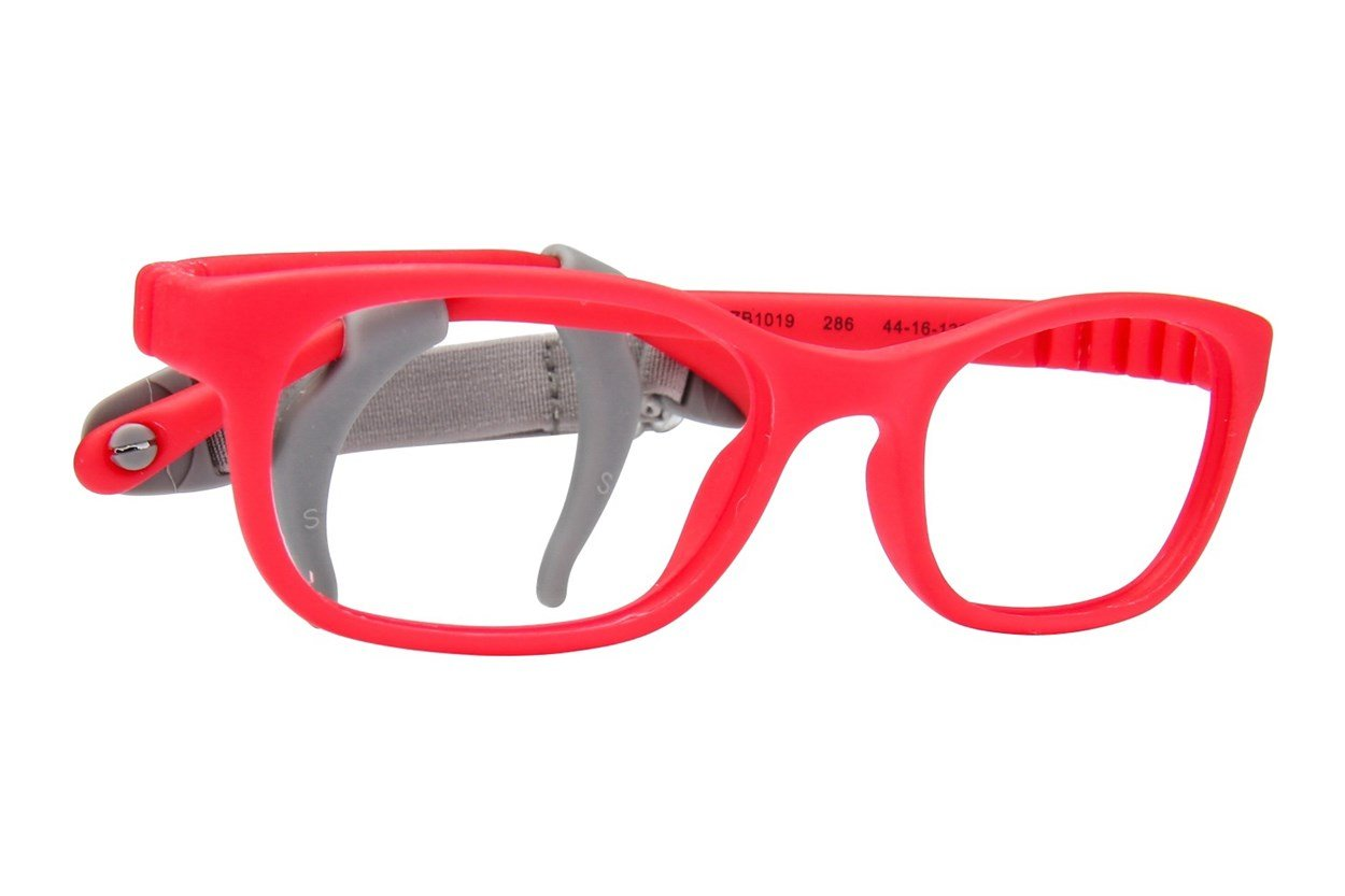 Zoobug ZB1019 Red Eyeglasses