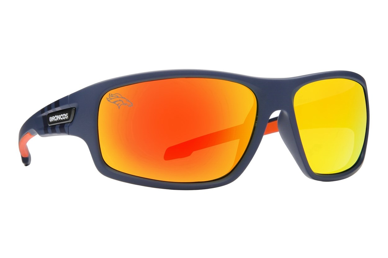 NFL Denver Broncos Catch Style Blue Sunglasses