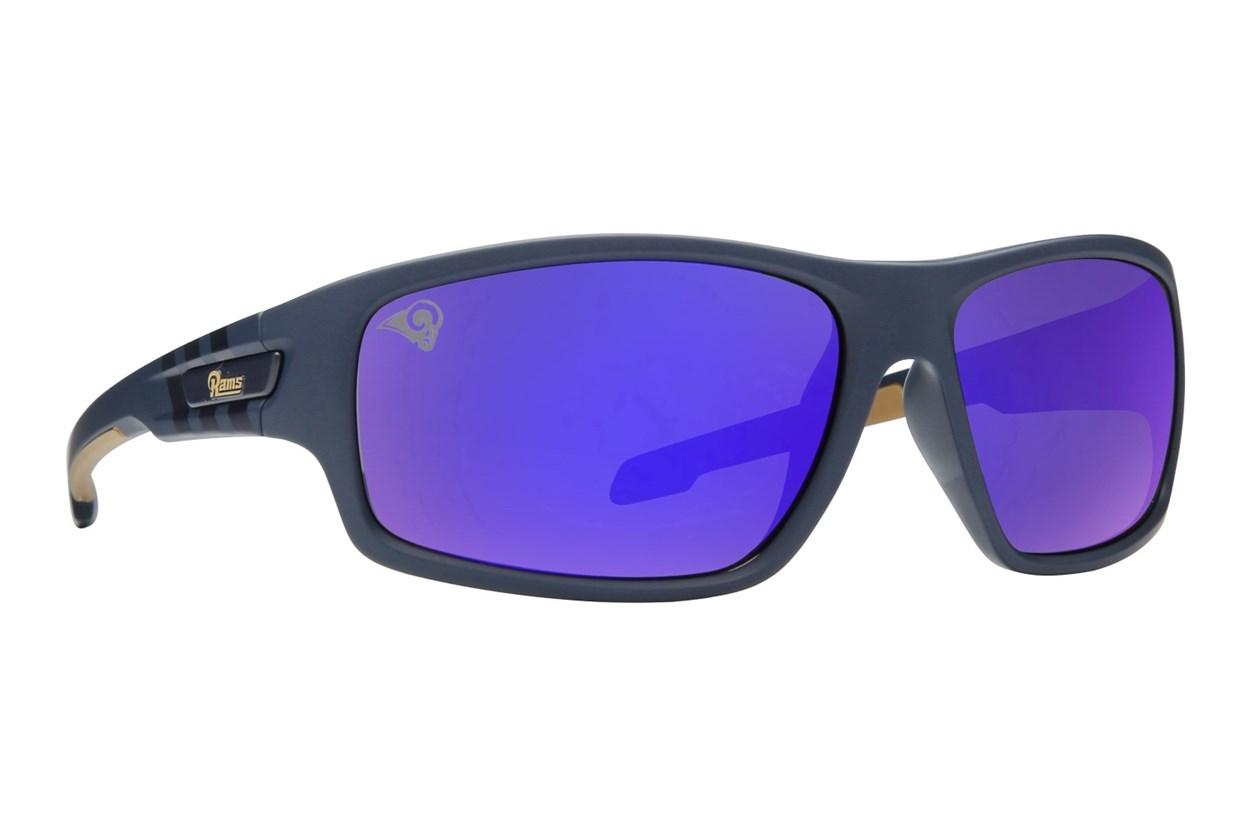 NFL LA Rams Catch Style Blue Sunglasses
