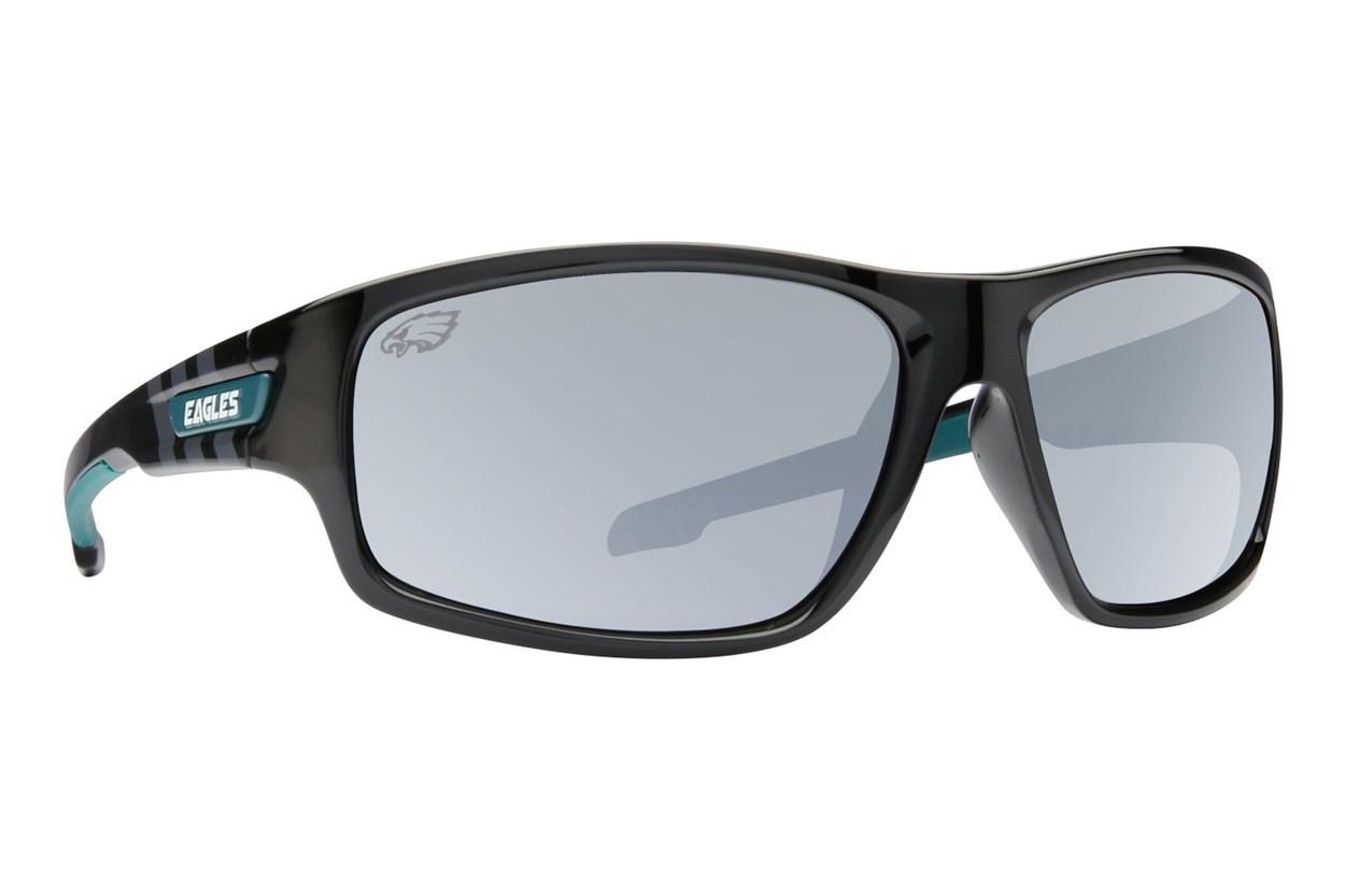 NFL Philadelphia Eagles Catch Style Black Sunglasses