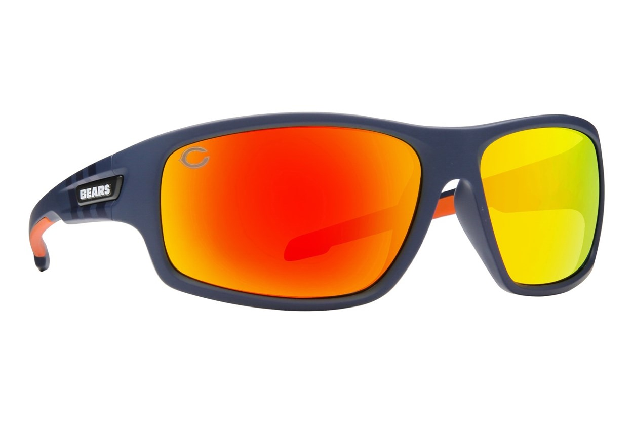 NFL Chicago Bears Catch Style Blue Sunglasses