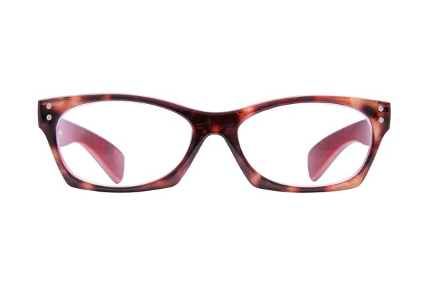 Peepers Brainchild Red ReadingGlasses