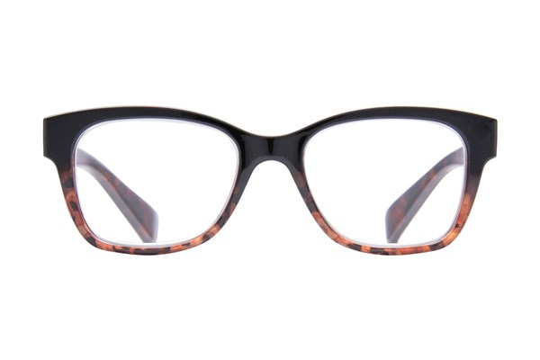 Peepers Handsome Tiger ReadingGlasses - Black