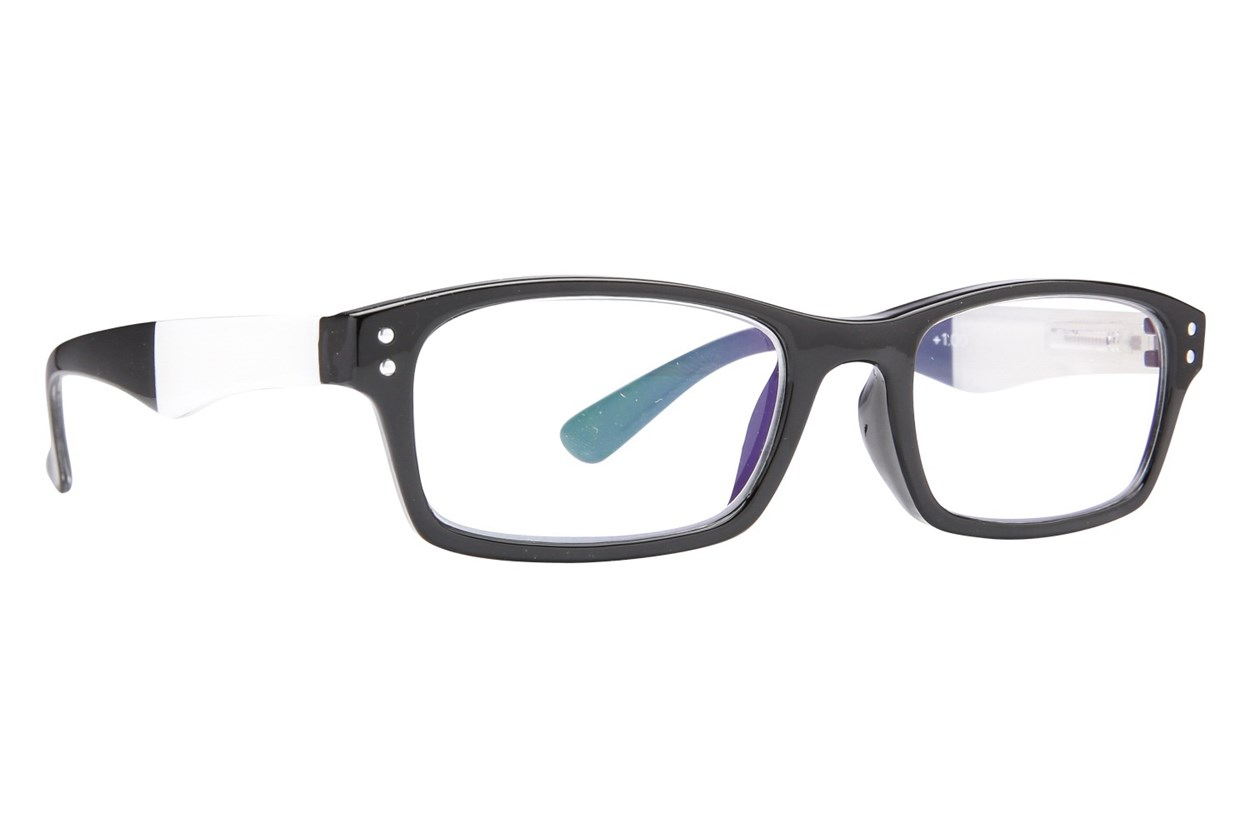 Peepers Pier Pressure Black ReadingGlasses