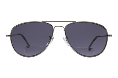 Peepers Ice Man Reading Sunglasses Gray