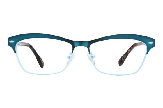 Jill Stuart JS 339 Turquoise Eyeglasses