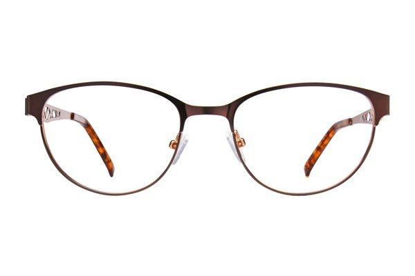 Jill Stuart JS 344 Eyeglasses - Brown
