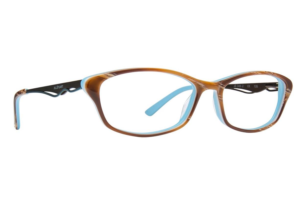 Jill Stuart JS 348 Brown Eyeglasses
