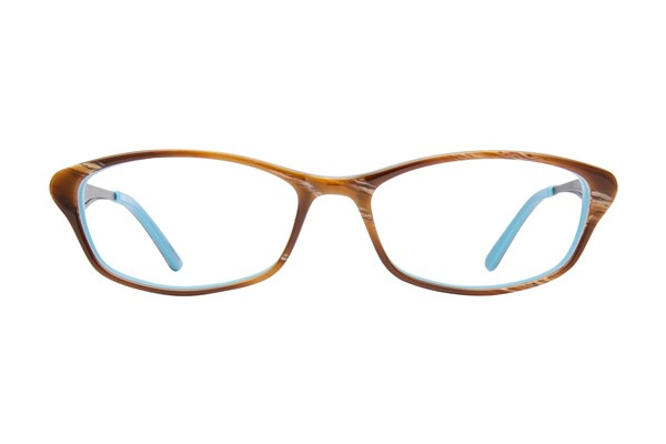 Jill Stuart JS 348 Brown Eyeglasses
