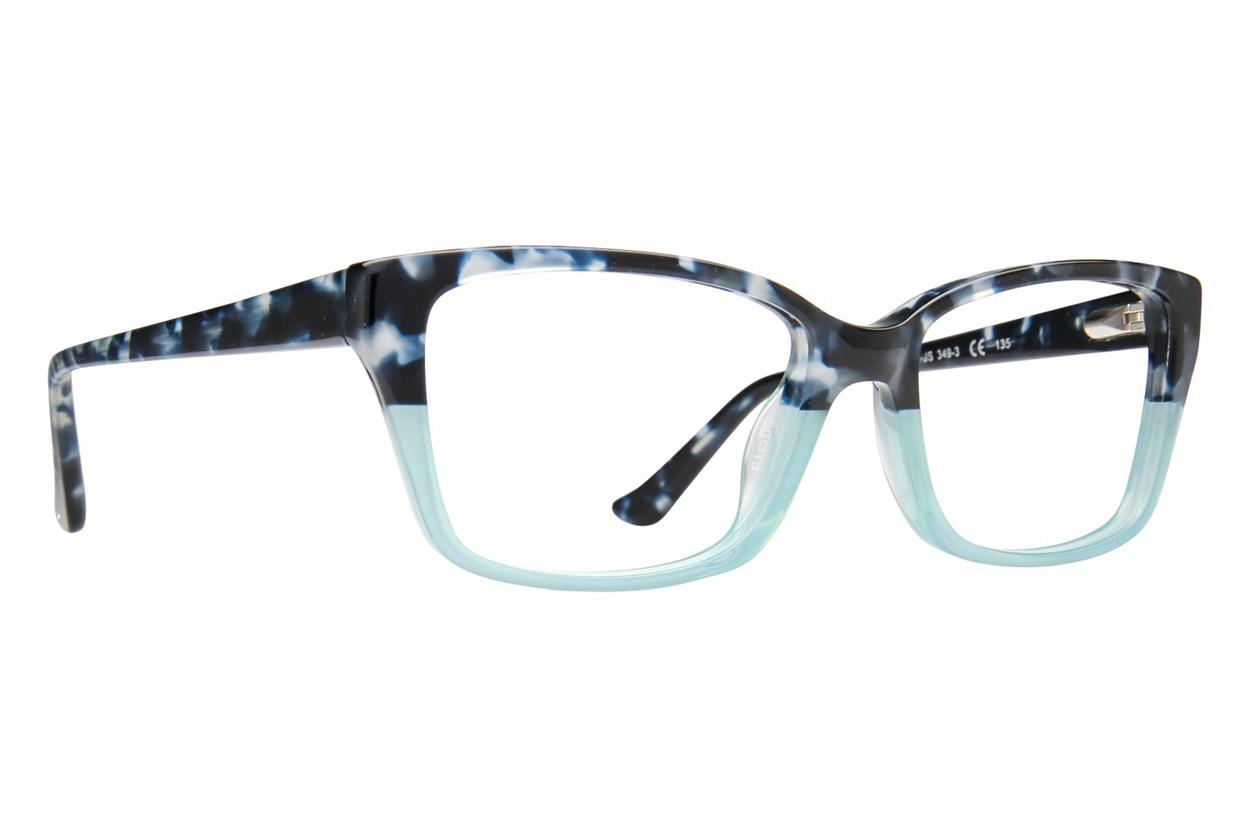 Jill Stuart JS 349 Blue Eyeglasses